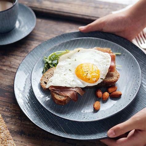 10 Inch Ceramic Dinner Plates - 5 1 2inch 8inch 10inch blue ceramic plate breakfast dinner