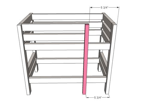 Ana White Doll Bunk Beds For American Girl Doll And 18 American Doll Bunk Bed Plans