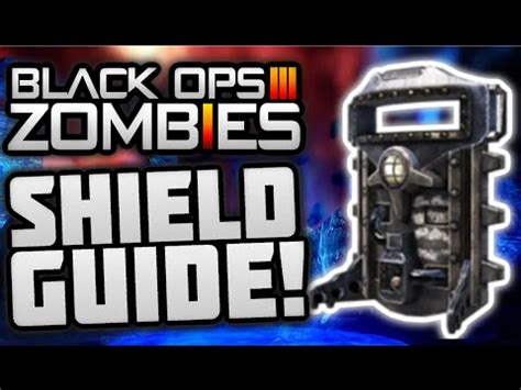 tutorial zombies black ops 3 quot revelations quot all shield part locations how to build