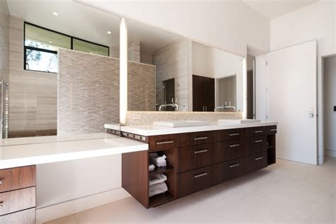 Vanity Solana by Trendsetting In Solana Modern Bathroom San Diego