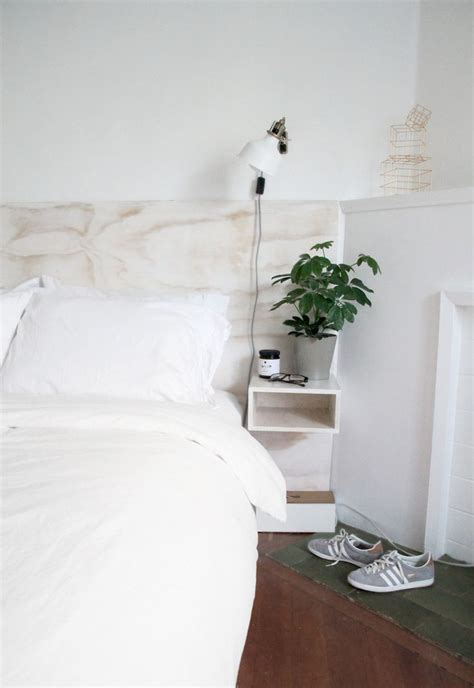headboard with floating side tables 25 best ideas about plywood headboard on