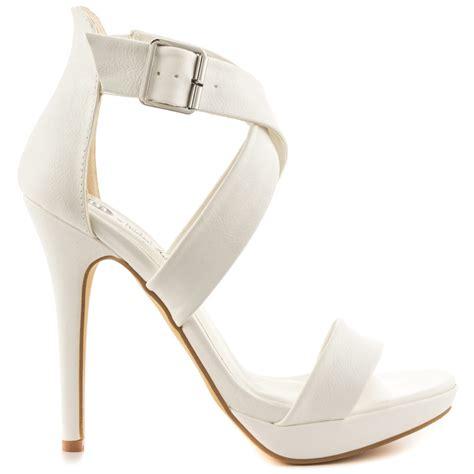 cheap white platform heels is heel