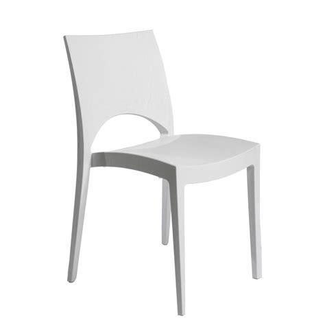 chaise de jardin blanche 3135 chaise de jardin en r 233 sine greenpol blanc leroy merlin