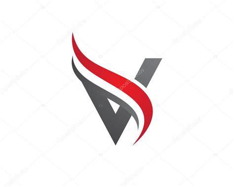 a v a a v letter logo template stock vector 169 elaelo 97810722