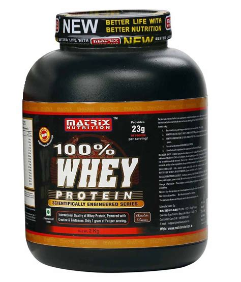 Whey Matrix Matrix Nutrition 100 Whey Protein 2 Kg Buy Matrix