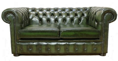 green leather chesterfield sofa chesterfield 2 seater antique green leather sofa offer