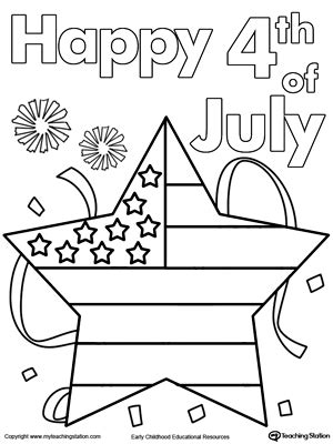 happy 4th of july color by numbers coloring book for adults a patriotic color by number coloring book with american history summer color by number coloring books volume 28 books 4th of july flag coloring page myteachingstation