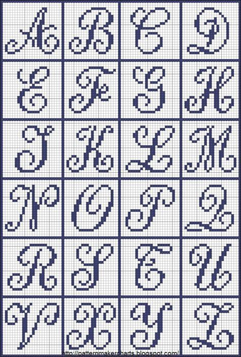 pattern maker letters free easy cross pattern maker pcstitch charts free