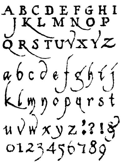 Lettering Fonts Alphabet