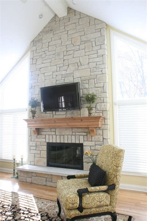 stone fire place update your fireplace north star stone