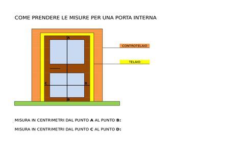 controtelaio porta interna come misurare una porta interna edilhasta