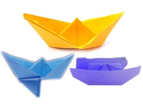 paper boat making steps 3 boats in 1 video how to make a paper boat paper boat
