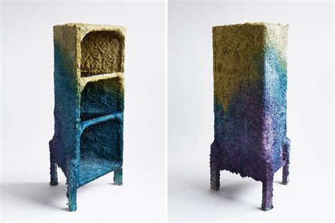 How To Make Paper Mache Furniture - shaw creates furniture using spray guns
