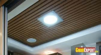 false ceiling wood