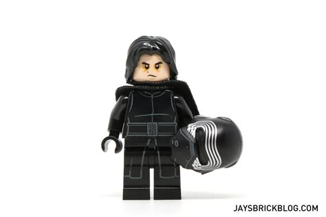Unmasked Kylo Ren Pg745 Wars Awakens Minifigure Brick review lego 75139 battle on takodana