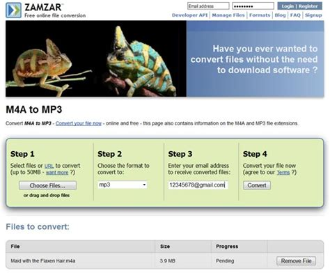 mp3 to flac zamzar free online file conversion how to free convert m4a to mp3
