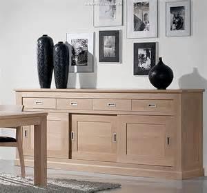 meubles contemporains en bois massif
