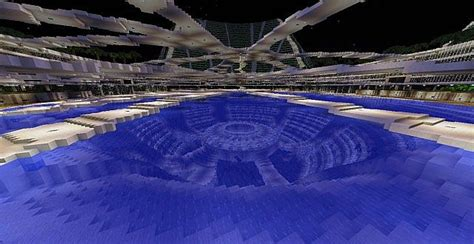 lilypad city eco floating city minecraft building