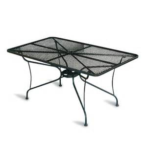 Wrought Iron Patio Dining Table Cannobio Wrought Iron Garden Dining Table