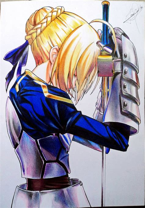 New Anime Fate Stay Blue Saber 2 0 Figma 227 Pvc Figure 6 saber fate stay by jeancarlo183 on deviantart