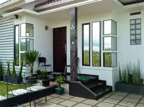 inspirasi teras cantik  rumah minimalis properti