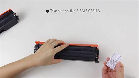 reset cartucho hp deskjet 2050 hp 17a cf217a toner cartridge chip replace reset guide
