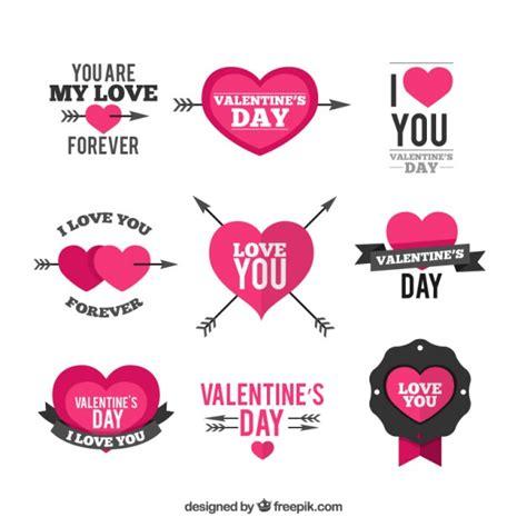 valentines day decoration day decoration elements vector premium