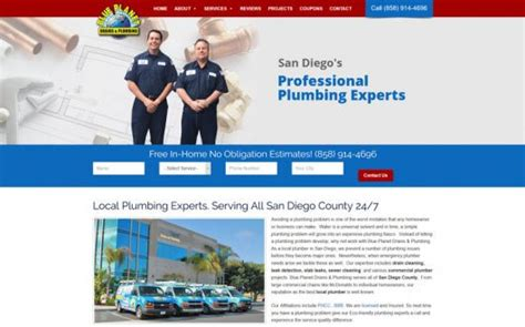 Blue Planet Plumbing by Marketing Portfolio Partners In Local Search