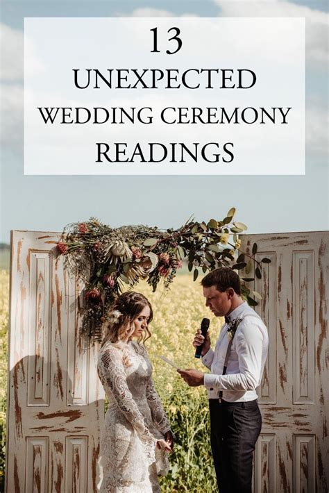 The 25  best Wedding ceremony readings ideas on Pinterest