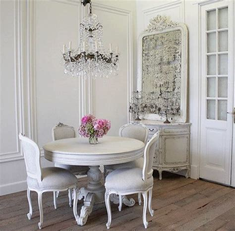 antique french rococo dining chairs  linen