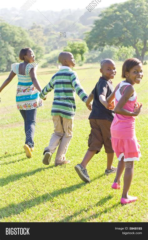 The American Run American Children Running Stock Photo Stock Images Bigstock