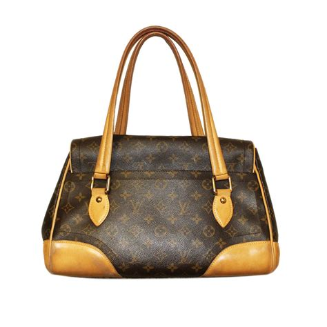 Are Louis Vuitton Bags Handmade - authentic louis vuitton beverly gm shoulder bag handbag