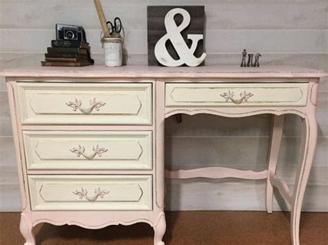 girls cream bedroom furniture vintage french provincial desk painted and distressed in a