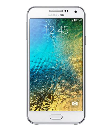 Huanmin Cover Samsung Galaxy E5 White samsung galaxy e5 16gb white mobile phones at low prices snapdeal india