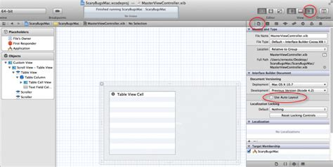 disable auto layout during animation how to make a simple mac app on os x 10 7 tutorial part 1 3