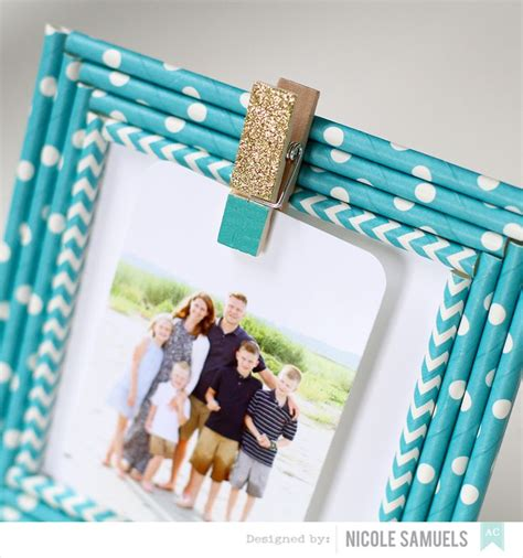 Paper Craft Straws - 25 best ideas about clothespin picture frames on