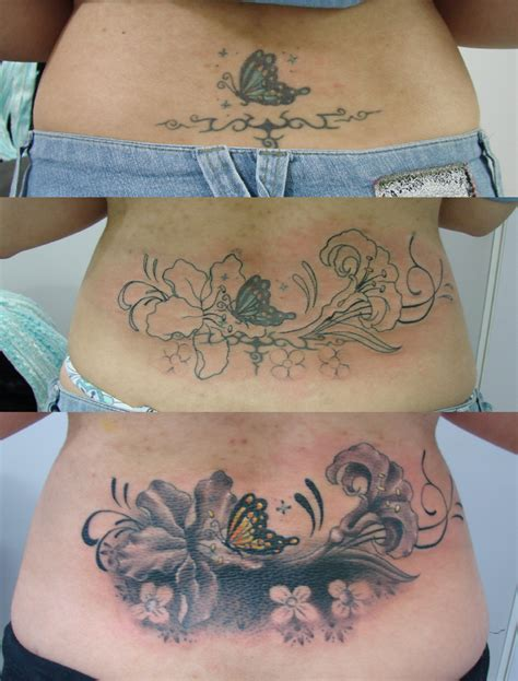 cover up lower back tattoo designs cover up by lagartotattoo on deviantart