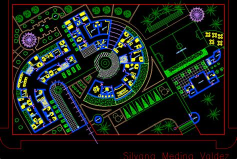 layout plan dwg police station dwg file architecture world