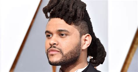 the weeknd s hair get the exclusive details on the weeknd s new haircut pic