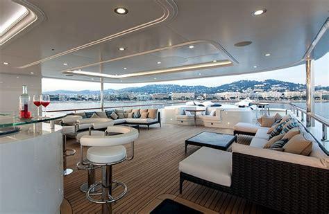 ultra modern mega yacht interior pride 45m superyacht charter from viudes mediterranean