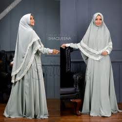 Azalia Dress Khimar Mouslim Syari Modis Gamis gamis set syari polos modis dan trendy shaqueena set syari by oribelle wa 08127 60 888