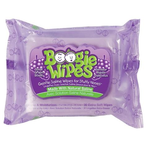 boogie wipes boogie wipes gentle saline wipes for stuffy noses great