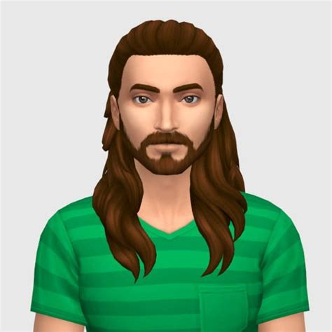 long hair for guys sims 4 cc 89 best ts4 cc genetics and make up images on pinterest