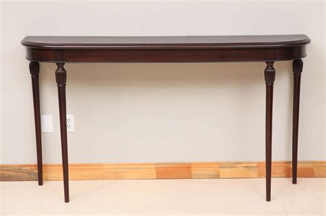 tall sofa tables tall italian mahogany console table at 1stdibs