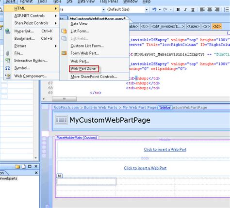 layout zone sharepoint my sharepoint blog how to add a web part zone for sharepoint