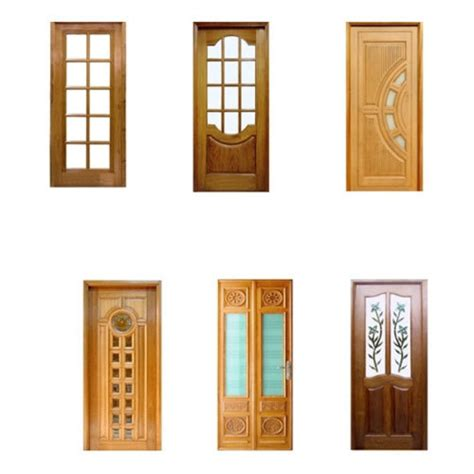 Wood Door With Glass Panel Wooden Doors Wooden Doors Glass Panels