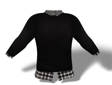 Sweater 3second Second Marketplace Mens Mesh Sweater And Shirt