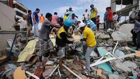 imagenes fuertes ecuador ecuador earthquake 272 people killed 2 527 injured cnn com