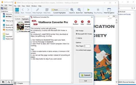 vitalsource drm removal convert vbk to pdf