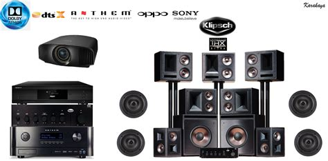 klipsch 7 2 thx ultra 2 home theatre system